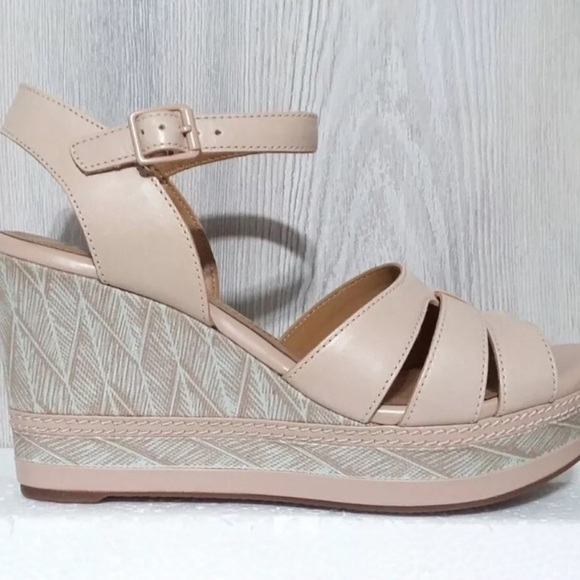 Clarks Shoes | Zia Noble Nude Leather